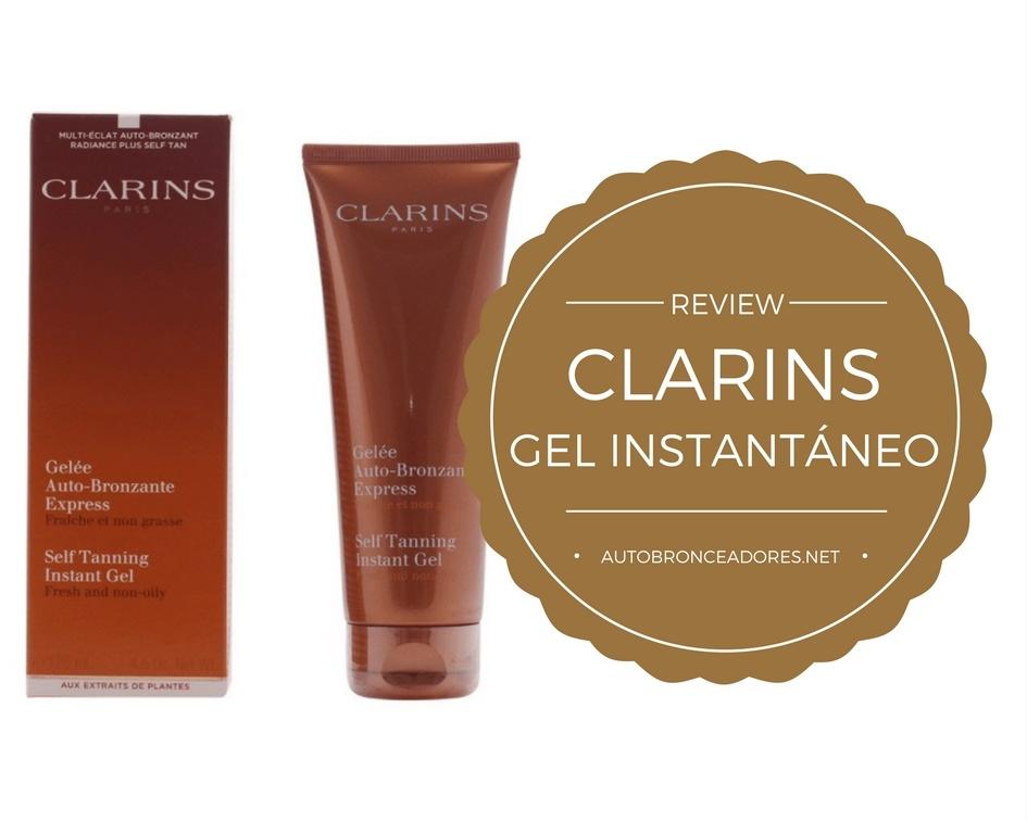 comprar Clarins gel autobronceador instantáneo- Review